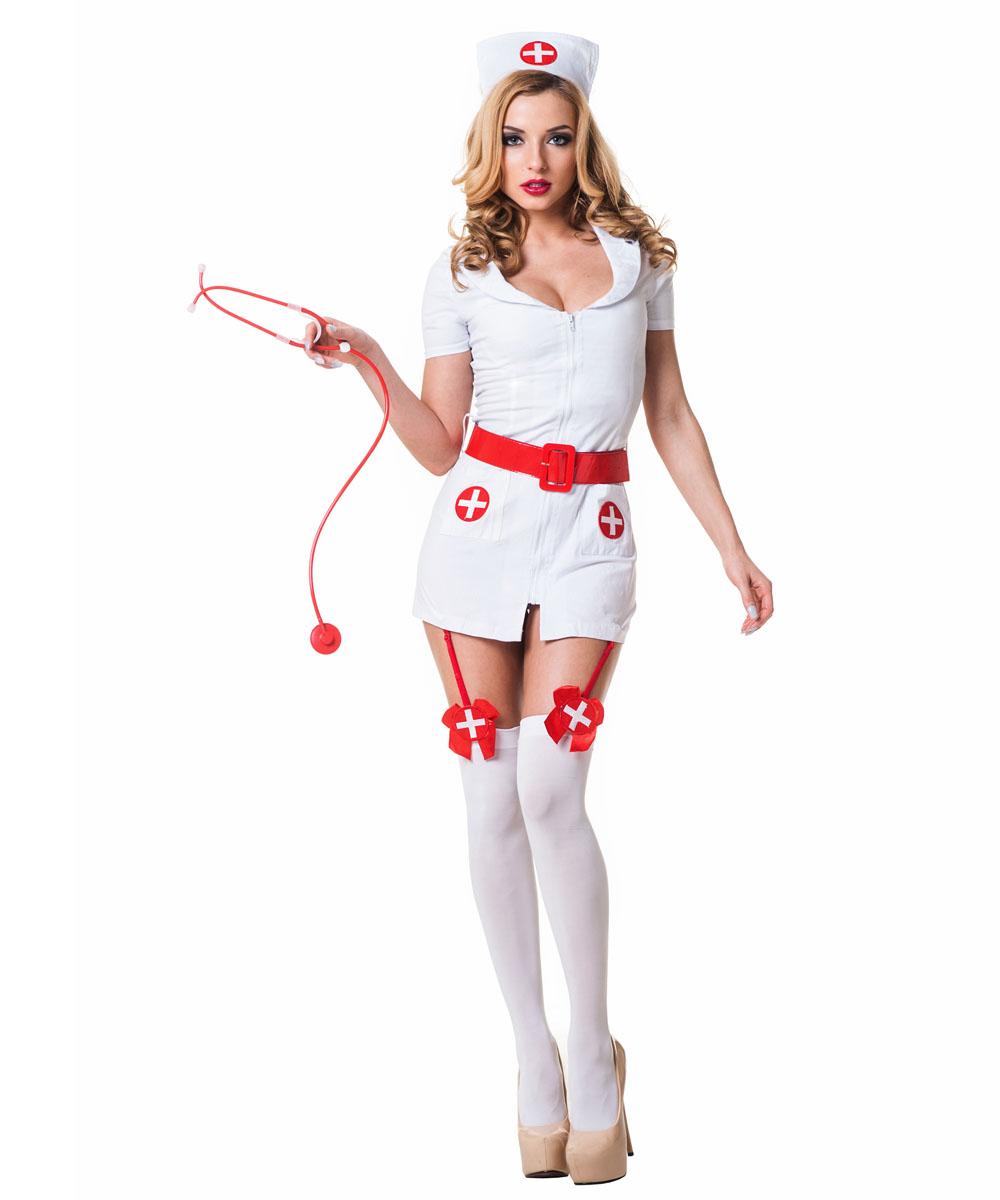 Костюм похотливой медсестры - фото 822886