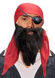 Повязка на глаз пиратская - фото 240083