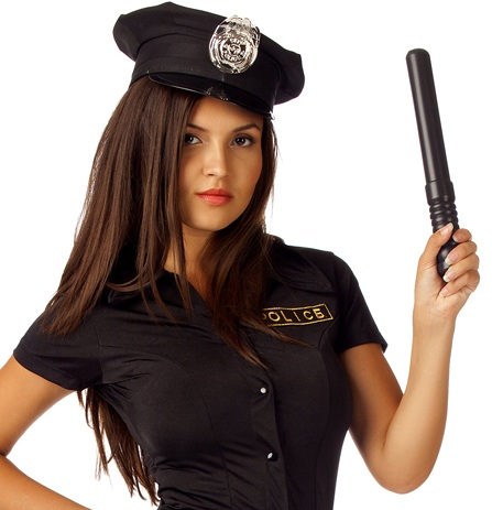 Полицейская дубинка - фото 240090