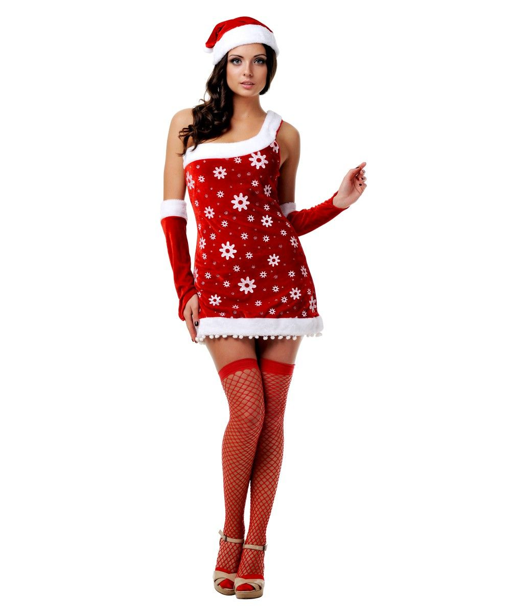 Новогодний костюм снегурочки - фото 208090