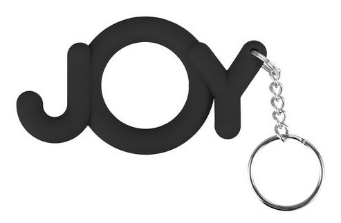 Черное эрекционное кольцо Joy Cocking - фото 685795