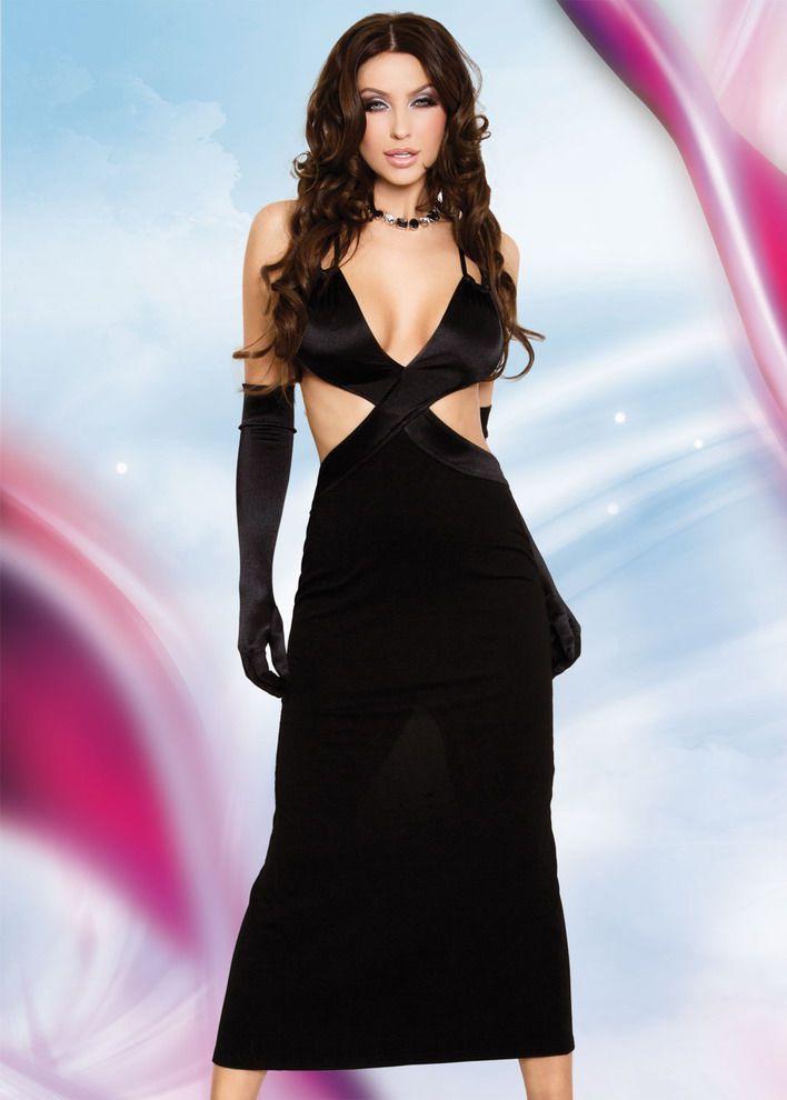 Элегантное длинное платье Daisy - фото 210382