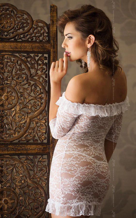 Сорочка Agathe с рукавами 3/4 - фото 132713