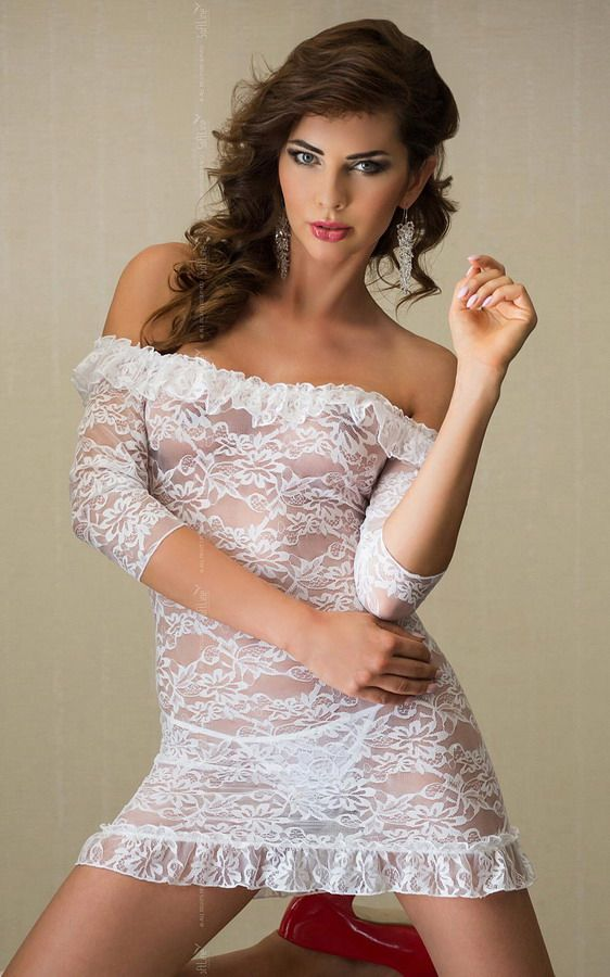 Сорочка Agathe с рукавами 3/4 - фото 132712