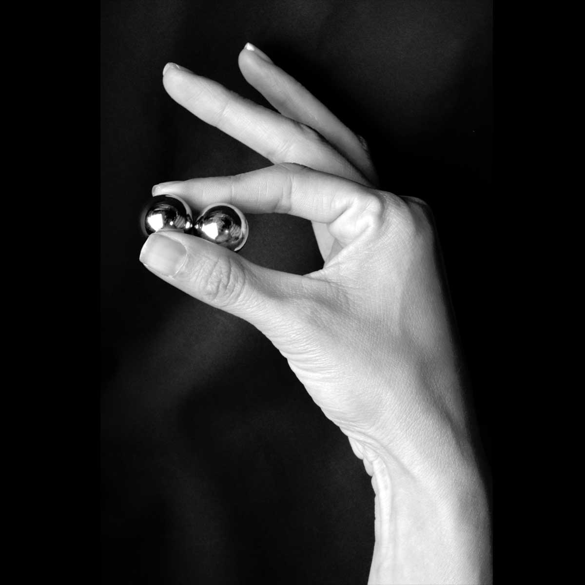 Вагинальные утяжелённые шарики без сцепки - фото 449789