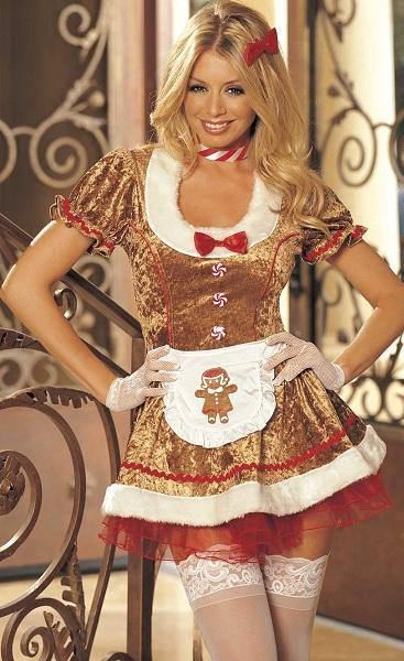 Костюм  Сладкая хозяйка пряничного домика  - фото 210625