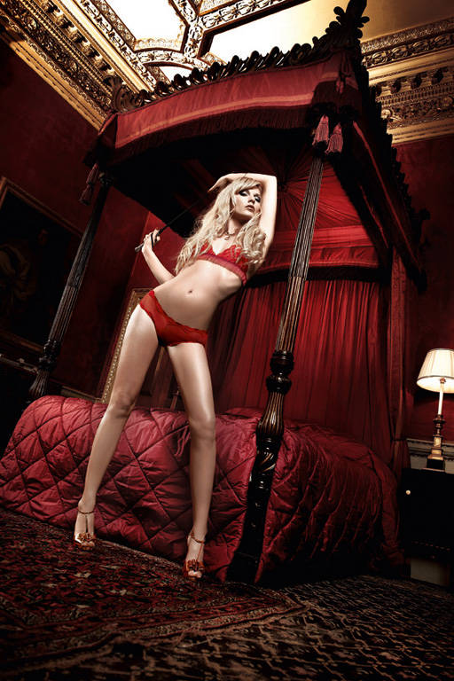 Комплект бикини из красного кружева Have Fun Princess - фото 212445