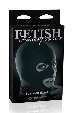 Черная маска на голову Spandex Hood - фото 8923