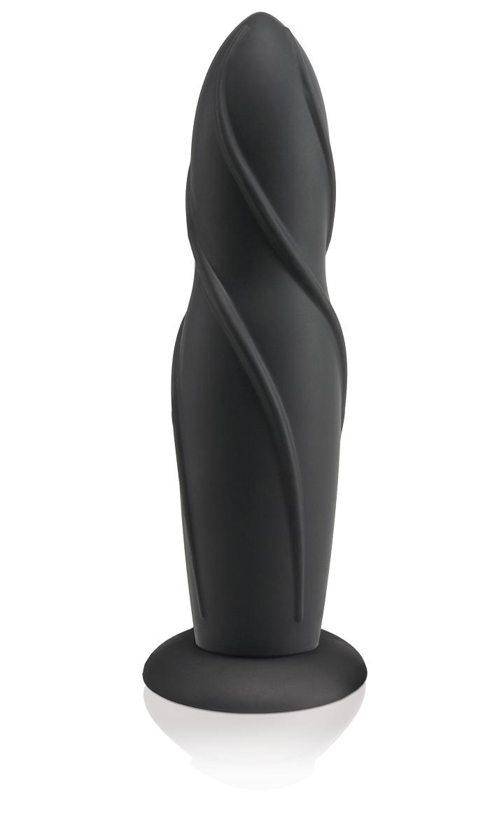 Черная насадка на страпон Fetish Fantasy Elite - 20,3 см. - фото 524682