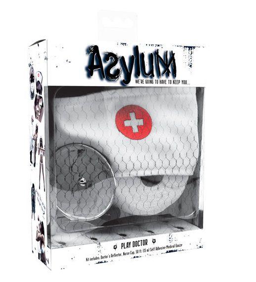 Набор доктора Asylum: шапочка, отражатель и эластичная фиксация