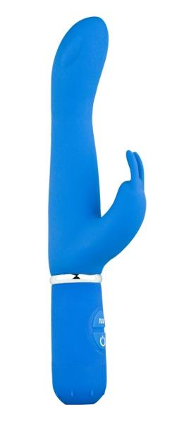 Голубой вибростимулятор 10 Function G Spot Rabbit - 21,5 см. - фото 214661