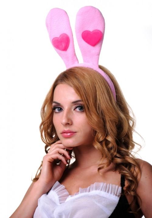 Ушки зайчика с сердечком