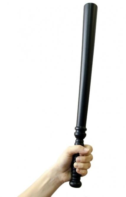 Полицейская дубинка - 50 см. - фото 240907
