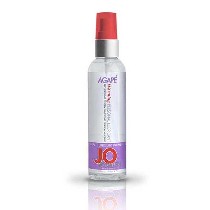 Женский гипоаллергенный возбуждающий лубрикант JO Personal Lubricant  AGAPE Women Warming - 120 мл. - фото 314371