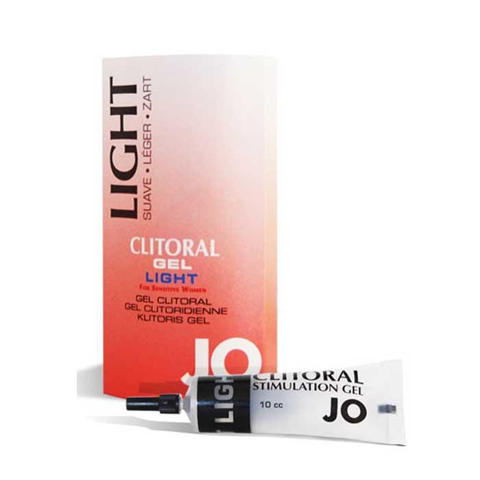 Возбуждающий гель для клитора легкого действия JO Clitoral Light - 10 мл. - фото 314383