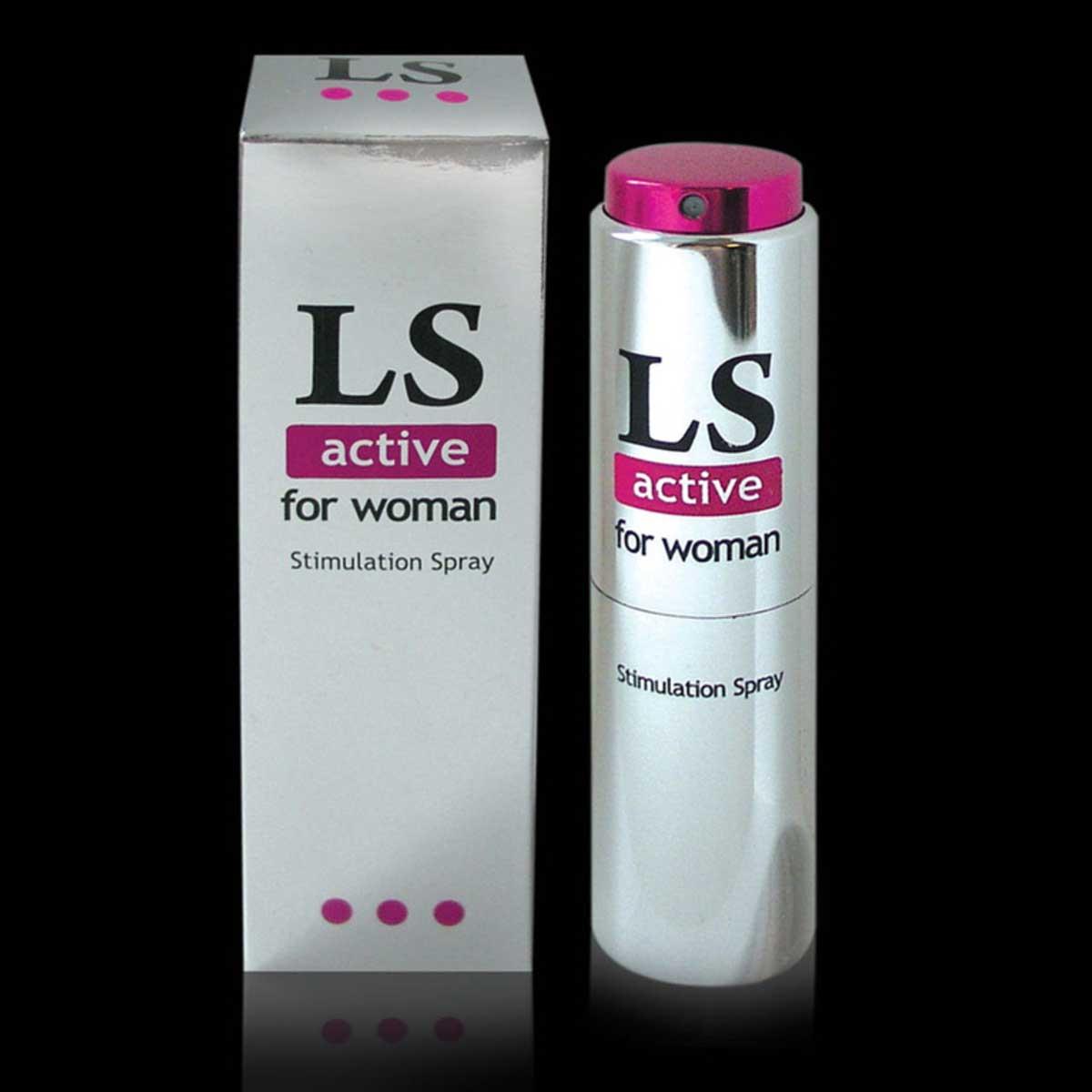 Спрей-стимулятор для женщин Lovespray Active Woman - 18 мл. - фото 134056