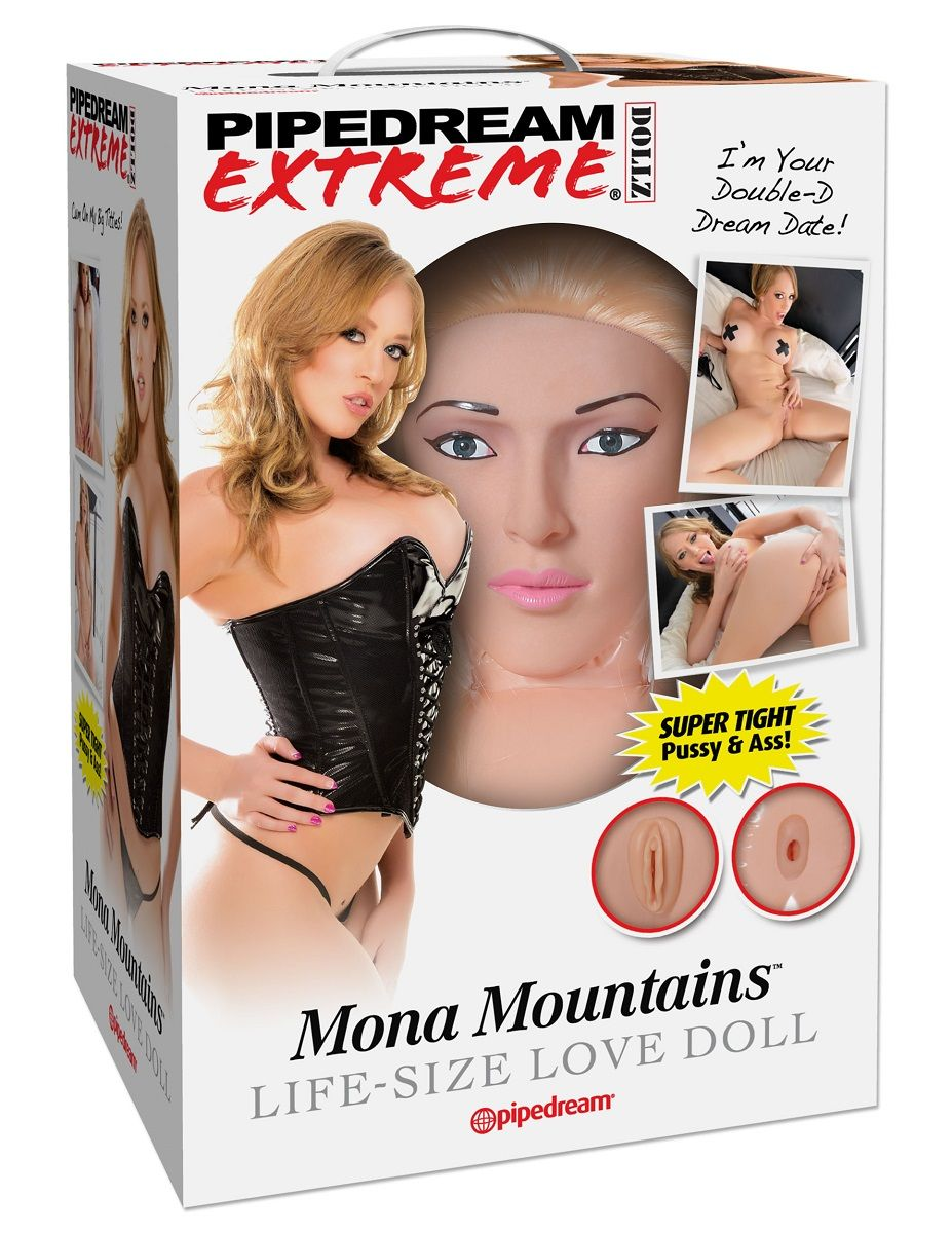 Кукла надувная PDX Dollz Mona Mountains - фото 713397
