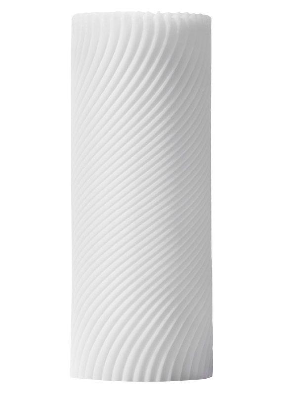 Белый 3D мастурбатор ZEN - фото 1146094