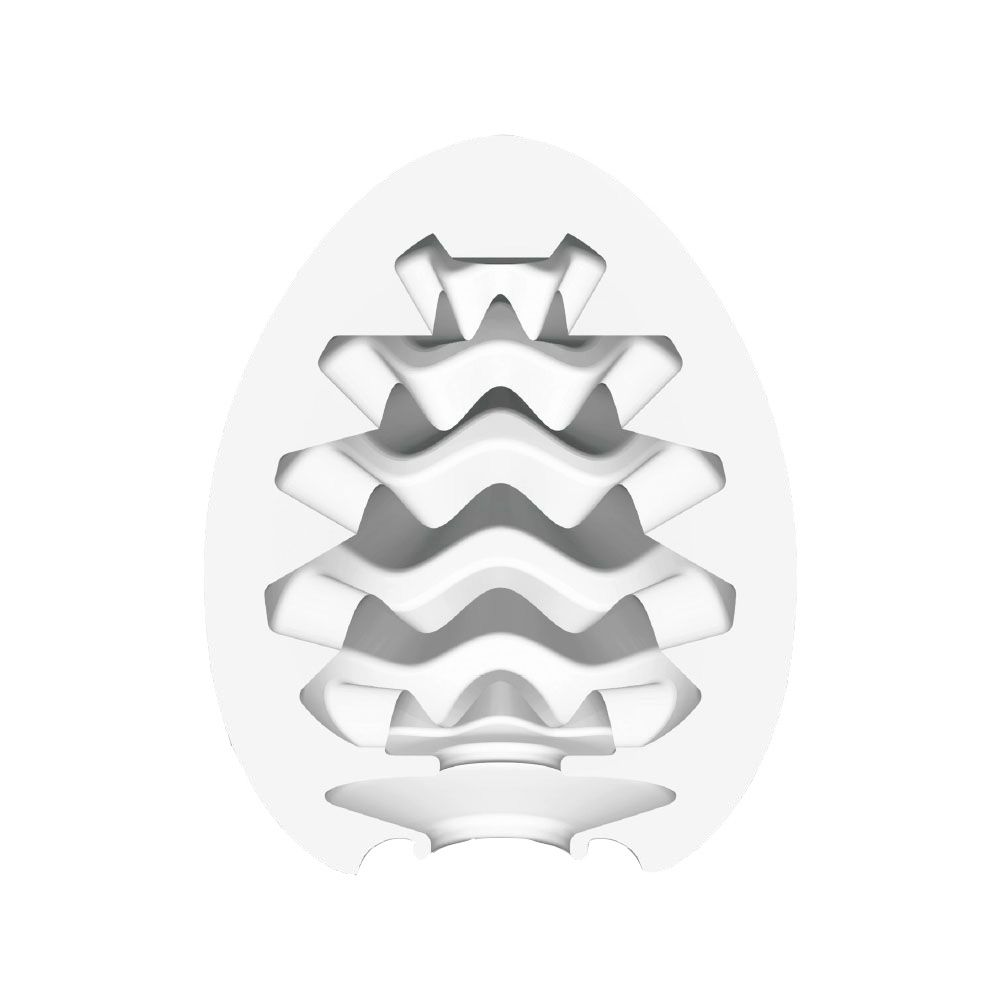 Мастурбатор-яйцо WAVY - фото 134337