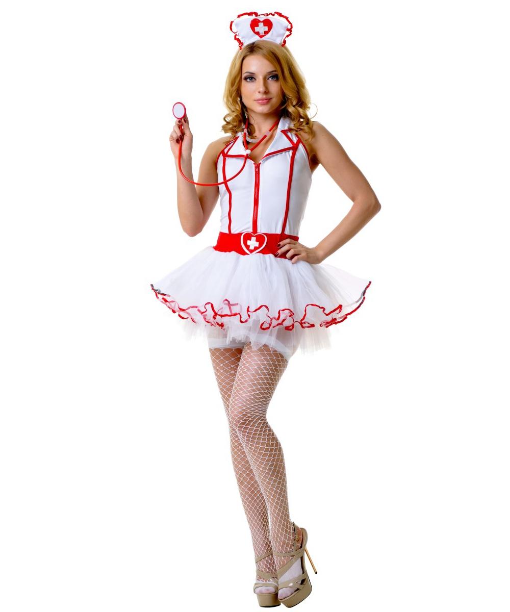 Костюм медсестры с пышной юбкой - фото 527060