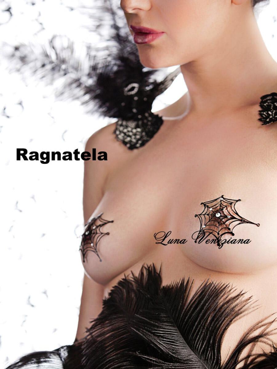 Украшение на грудь Ragnatele