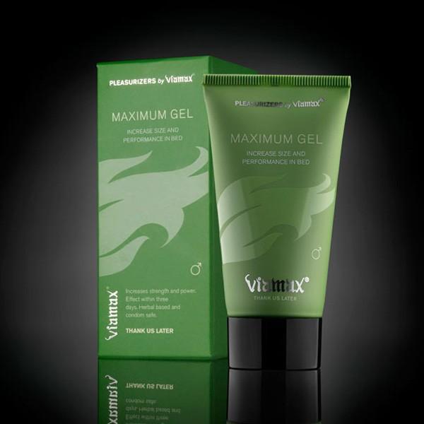 Возбуждающий и увеличивающий размеры гель для мужчин Viamax Maximum Gel - 50 мл. - фото 10220