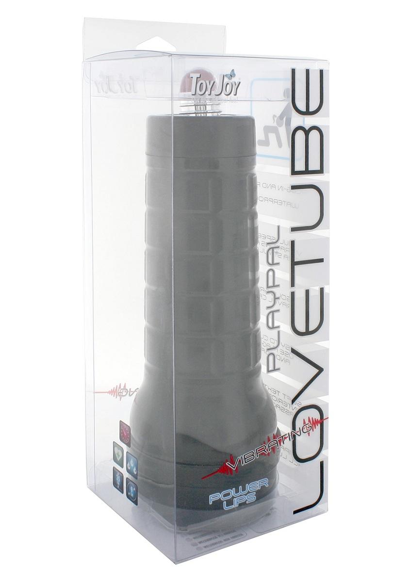 Мастурбатор-ротик LOVETUBE PLAYPAL VIBR POWER LIPS в тубе - фото 314901