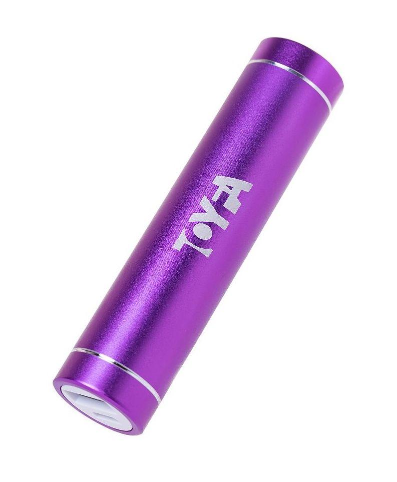 Портативное зарядное устройство A-toys 2400 mAh microUSB - фото 158754