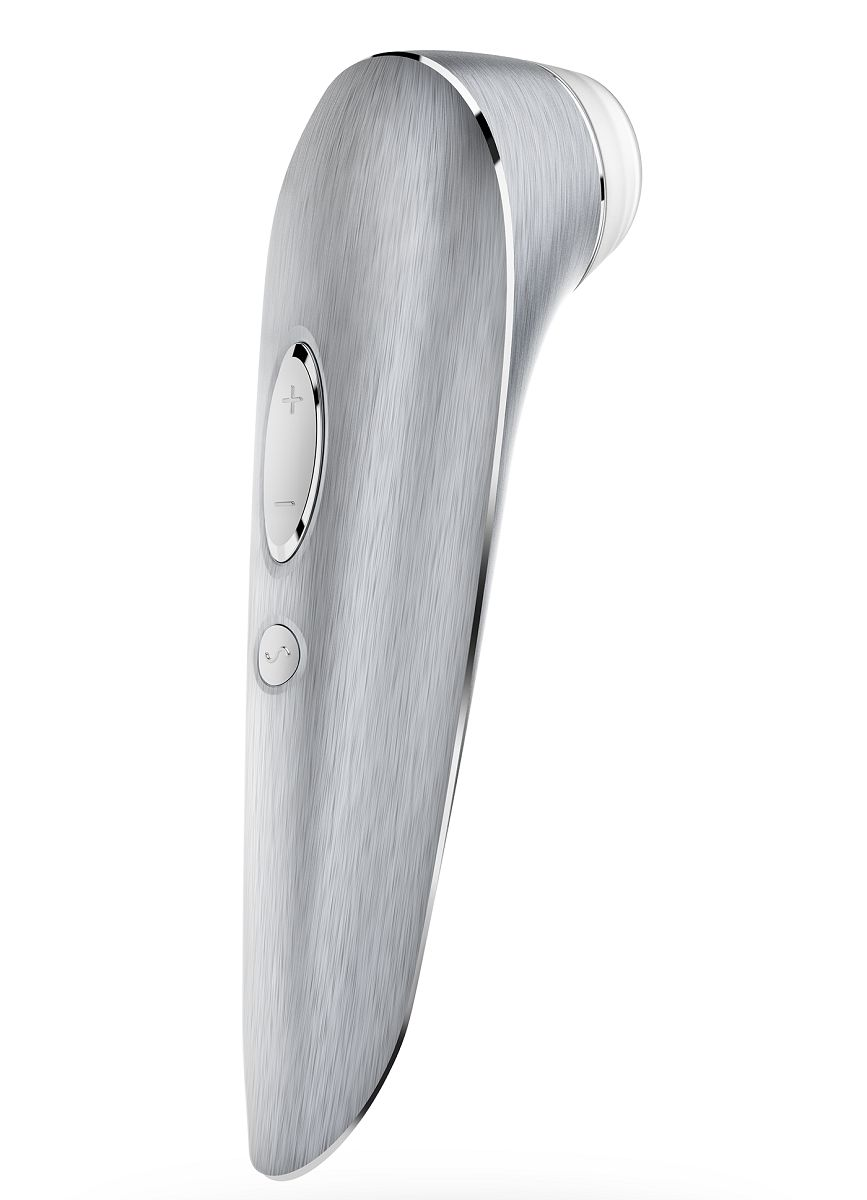 Алюминиевый клиторальный стимулятор Satisfyer Luxury High Fashion - фото 250568