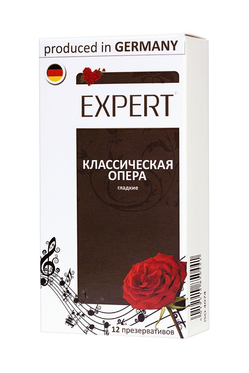 Гладкие презервативы Expert  Классическая опера  - 12 шт.