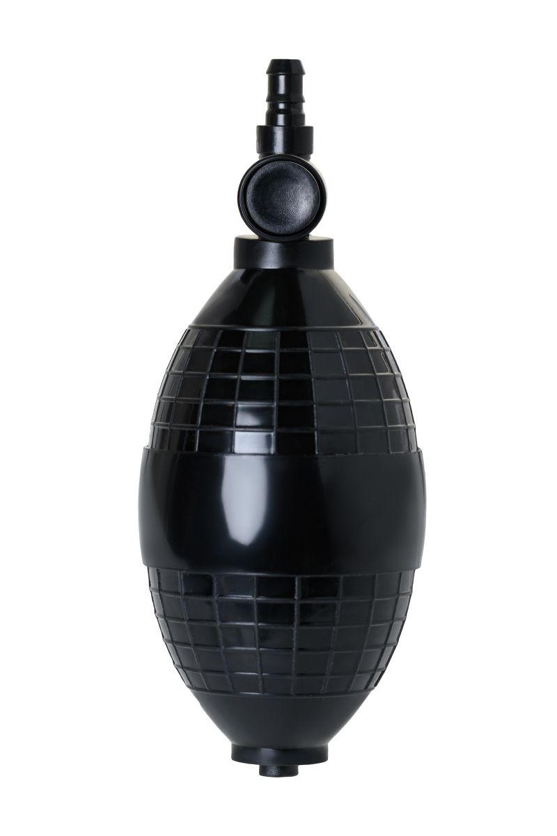 Помпа для клитора и вагины SAIZ Basic с грушей - фото 177703