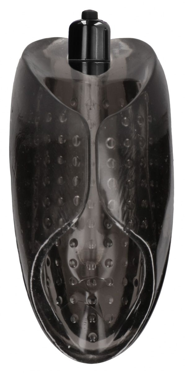 Черный мастурбатор Vibrating Masturbator №71