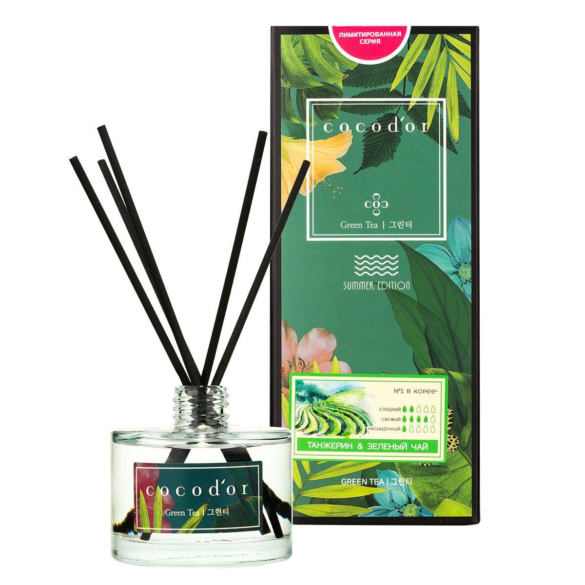 Арома-диффузор для помещений  Мароканский танжерин и зеленый чай  - 200 мл.