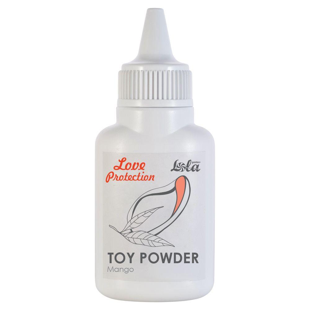 Пудра для игрушек Love Protection с ароматом манго - 15 гр.