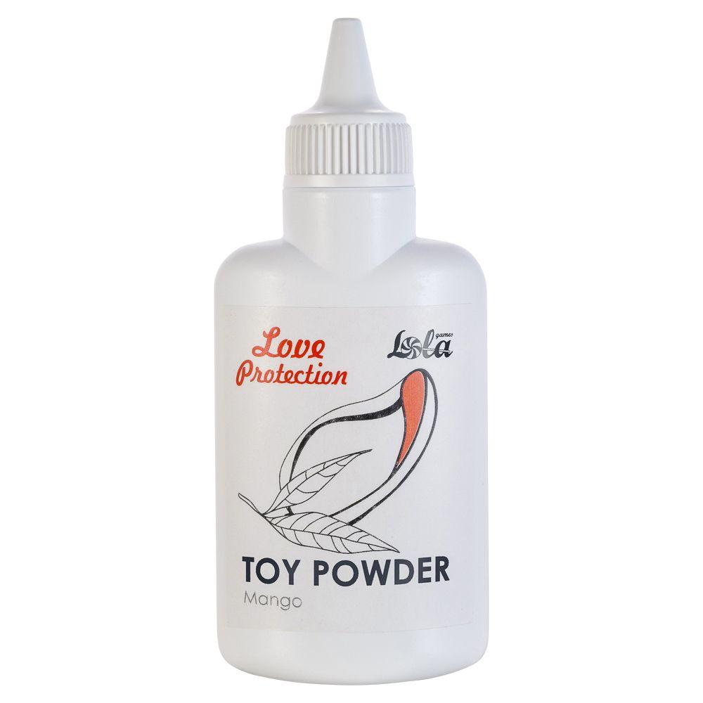Пудра для игрушек Love Protection с ароматом манго - 30 гр.