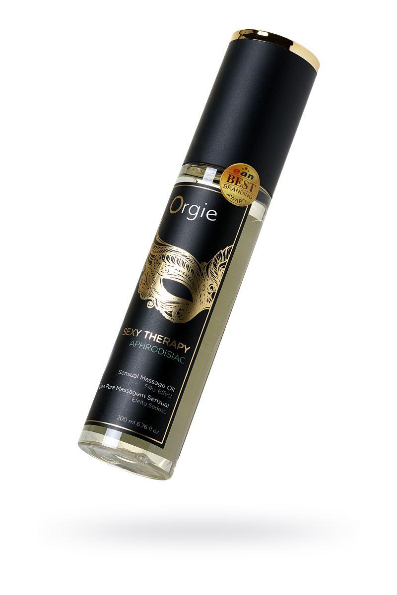 Минеральное массажное масло Orgie Sexy Therapy Afrodisiac - 200 мл.
