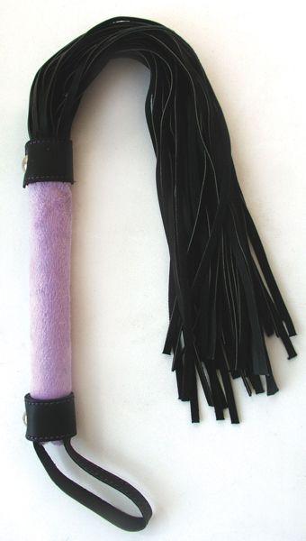 Фиолетово-черная плетка Notabu - 46 см.