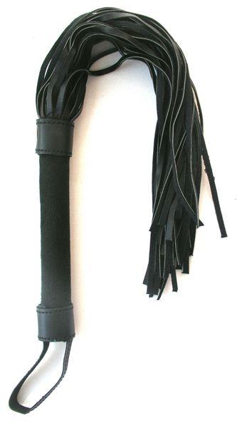 Черная плетка Notabu - 46 см.