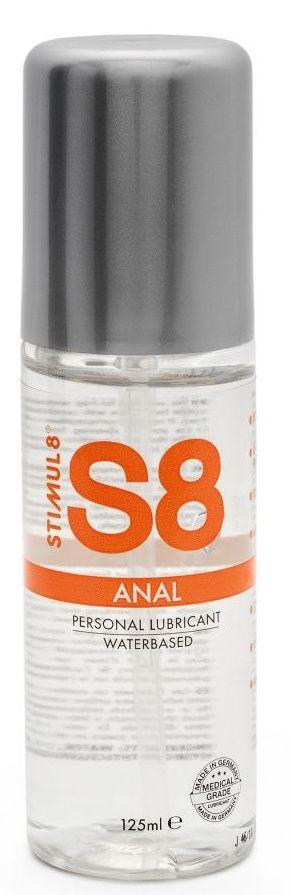Анальная смазка на водной основе S8 Anal Lube - 125 мл.