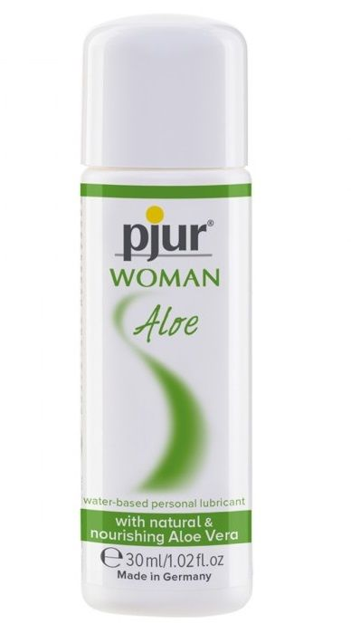 Лубрикант на водной основе pjur WOMAN Aloe - 30 мл.