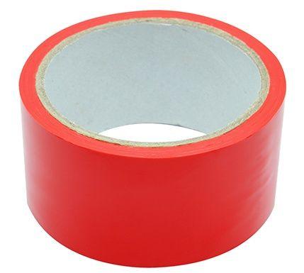 Красная липкая лента BONDAGE TAPE - 18 м.