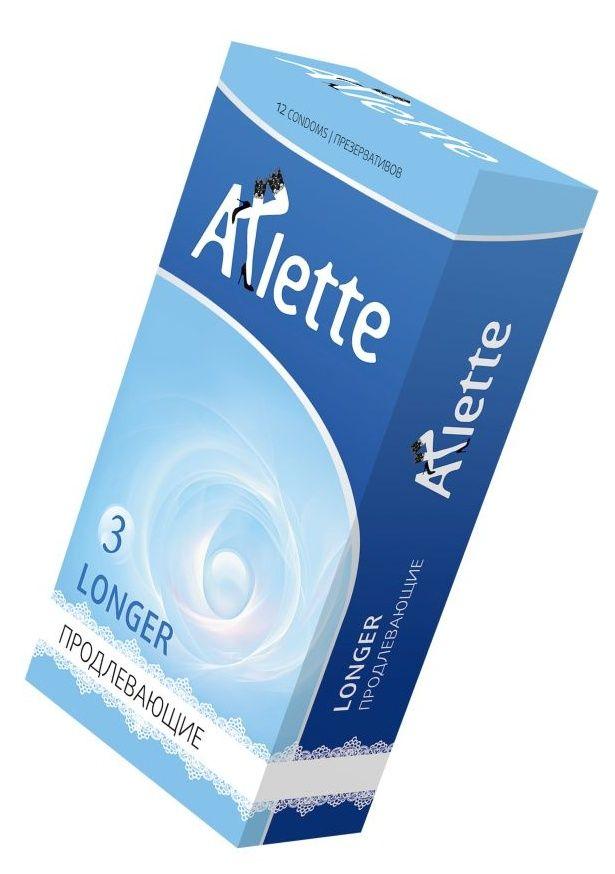 Презервативы Arlette Longer с продлевающим эффектом - 12 шт.