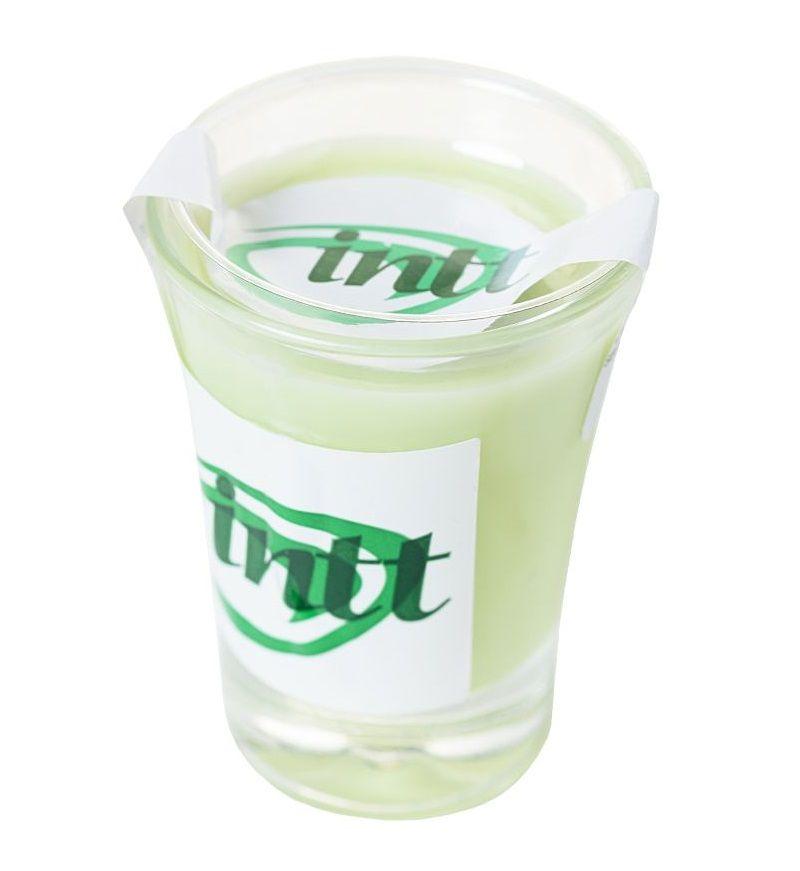 Массажная свеча для поцелуев Mint с ароматом мяты - 30 гр.