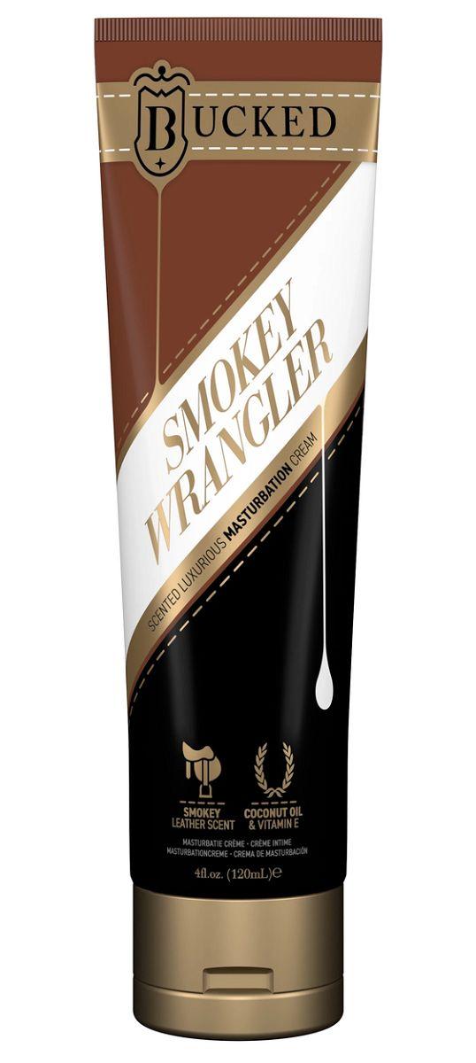 Крем для мастурбации Bucked Smokey Wrangler с ароматом сыромятной кожи - 120 мл.