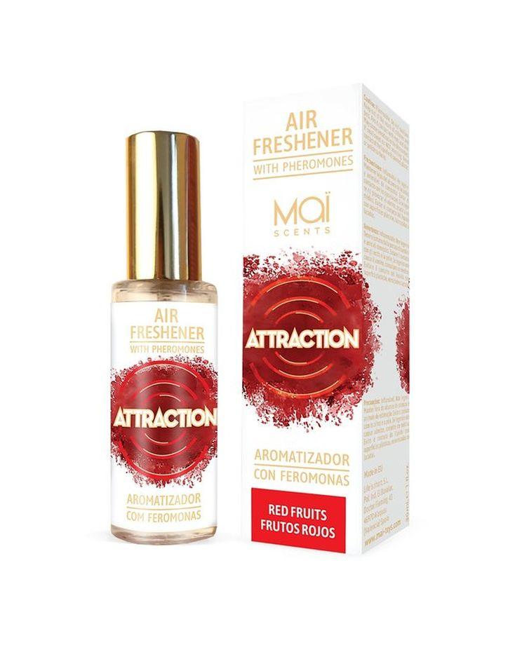 Освежитель воздуха с феромонами и фруктовым ароматом - 30 мл.