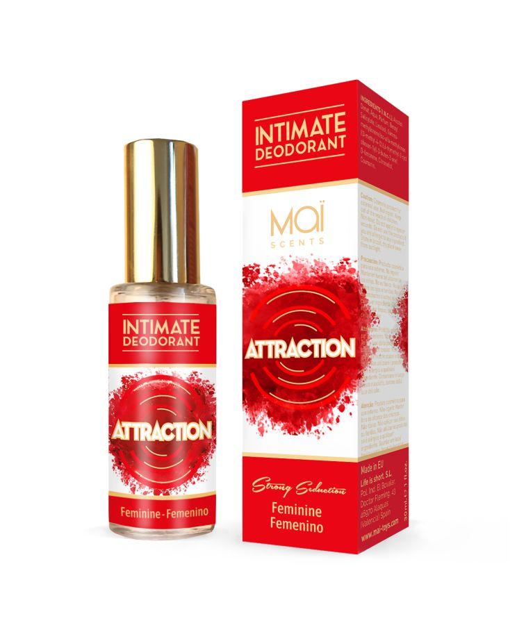 Женский дезодорант для интимной гигиены INTIMATE DEODORANT FEMININE - 30 мл.