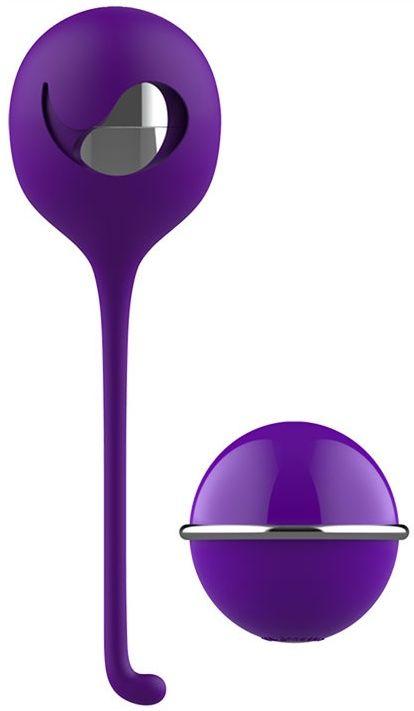Фиолетовое виброяйцо с пультом управления Remote Cherry