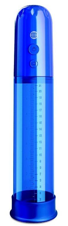 Синяя автоматическая вакуумная помпа Auto-Vac Power Pump