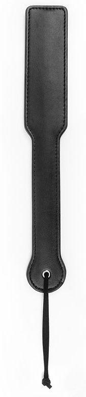 Черная гладкая шлепалка NOTABU с широкой ручкой - 32 см.