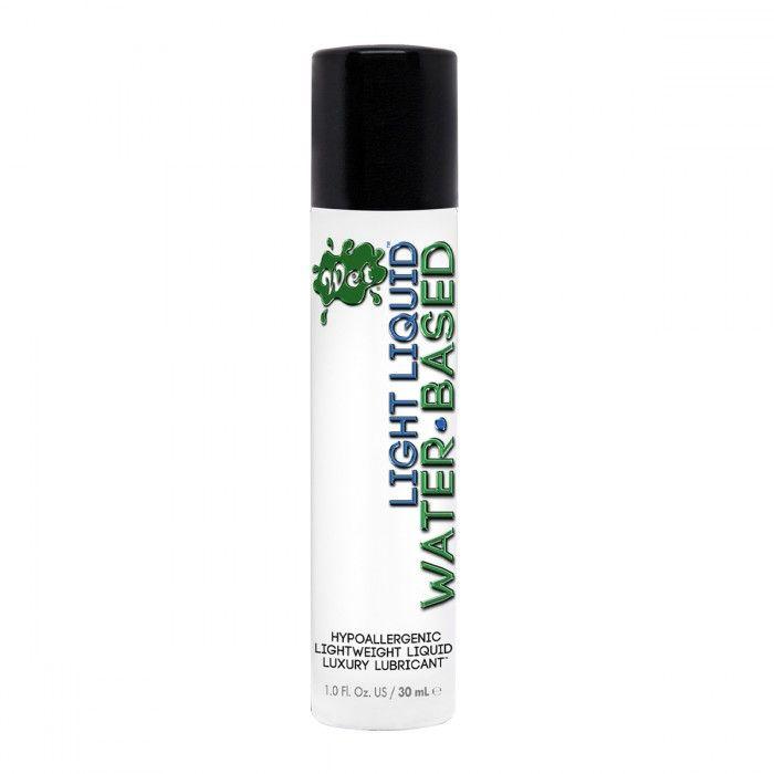 Лубрикант для чувствительной кожи Wet Light Liquid Lubricant - 30 мл. - фото 252751